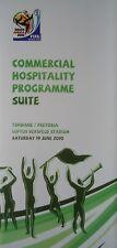 Menu FIFA coupe du monde Afrique du Sud 19.6.2010 Cameroun-Danemark # PRETORIA