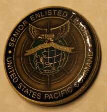 Senior Enlisted Leader US Pacific Command Navy Challenge Coin