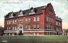 Postcard West Side High School in Aurora, Illinois~109706