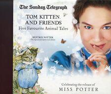 Beatrix Potter -  Adventures Of Peter Rabbit - Tom Kitten / Promo 2 x Audiobook