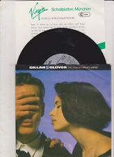"""7"""" GILLAN & GLOVER -She Took My Breath Away- 7"""" mit Product Facts Promo-Flyer"""