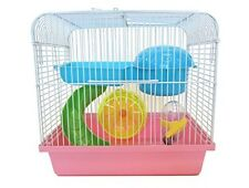 YML Dwarf Hamster, Mice Cage, w/Accessories, Pink H167PK Hamster cage NEW