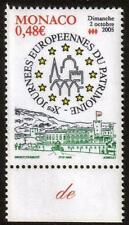 MONACO MNH 2005 European Day of the Cultural Heritage