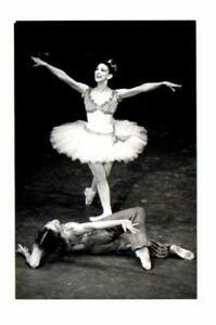 MARGOT FONTEYN BALLET DANCE SCENE, REAL PHOTO POSTCARD
