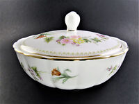 Wedgwood Bone China Sugar Powder Dish Bowl with lid Made in England (E1)