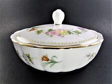New ListingWedgwood Bone China Sugar Powder Dish Bowl with lid Made in England (E1)