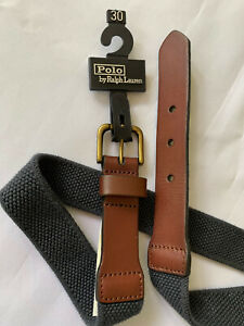 Polo by Ralph Blue  Belt Size 30 Kids Youth - new -