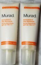 2X Murad Essential C Day Moisture Broad Spectrum SFP 30 - 1.7 Fl Oz - NWOB