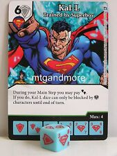 DC dice Masters - #089 Kal-L trained by Superboy-World 's Finest