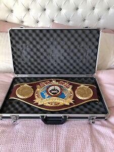 Authentic WBO SUPER CHAMPION- Boxing Belt Duplicate -IBF, WBA, WBC