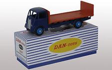 "DAN TOYS GUY Flat Truck With Tailboard"" Beu foncé/Rouge Exclu.500 Ex.Ref DAN 232"