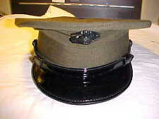 US.MARINE CORPS ALPHA ENLISTED GREEN SERVICE UNIFORM  HAT & GLOBE BADGE 7