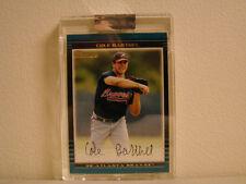 2002 Bowman # 259 Cole Barthel Card Atlanta Braves box 25