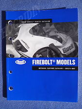 2008 HARLEY BUELL PARTS CATALOG MANUAL FIREBOLT MODEL 99574-08Y NEW