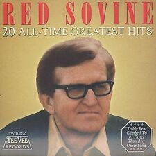 "RED SOVINE, CD ""20 ALL-TIME GREATEST HITS"" NEW SEALED"
