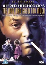 NEW SEALED= CLASSIC HITCHCOCK = The Man Who Knew Too Much -- PETER LORRE =CERT U
