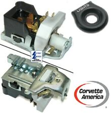 78-82 Chevy Corvette Reproduction Headlight Switch & BEZEL (NEW)
