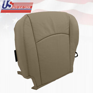 2009-2010 DODGE RAM 1500 LARAMIE DRIVER BOTTOM LEATHER PERFORATED SEAT COVER TAN