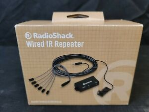 RadioShack Wired IR Repeater-1500458 Controls A/V Components - 6 Devices -New!