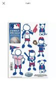 MLB Philadelphia Phillies Small Family Decal Set