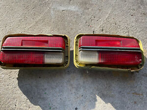 Datsun 240 Z 70/73Tail Light Pair With Harness