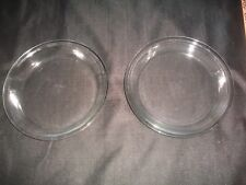 LOT OF 2 VTG Pyrex Pie Plates~Clear Glass ~ 9 Inch #209 ~ : pyrex pie plate 9 inch - pezcame.com