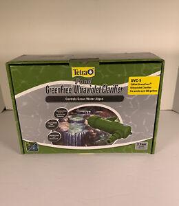Tetra Pond 5 Watt UV GreenFree Ultraviolet Clarifier UVC-5