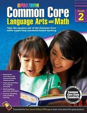 Common Core Language Arts and Math, Grade 2 by Spectrum (Paperback / softback, 2014)