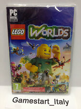 LEGO WORLDS PC COMPUTER VIDEOGIOCO NUOVO SIGILLATO NEW SEALED PAL