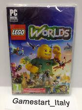 LEGO WORLDS PC COMPUTER VIDEOGIOCO NUOVO SIGILLATO NEW SEALED PAL