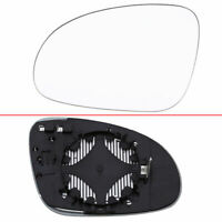 Passenger Left Side Door Wing Mirror Glass Heated fit VW Golf 5 Passat B6 Jetta
