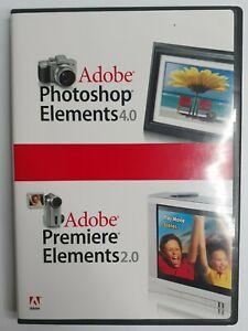 Adobe Photoshop Elements 4.0 Premiere Elements 2.0