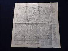 Landkarte Meßtischblatt 4351 Drebkau, Cottbus / Calau, von 1943