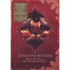 Back to Basics: Live and Down Under by Christina Aguilera DVD, Feb-2008 New