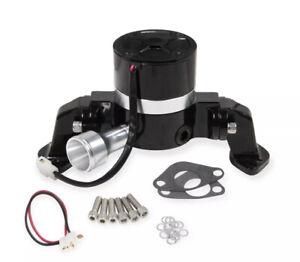 Mr. Gasket 7022BG Electric Water Pump - 35 GPM - Black BBC And LS Engine W/adapt
