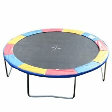 "Soozier 14"" Trampoline Pad Trampolining Replacement Jump Bounce GYM Colorful"