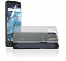 ZTE TPU Clear Protective Case and Screen Protection for ZTE Axon NEW