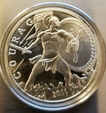 1 oz .999 silver Spartan Warrior king Leonidas courage 300 come and take it rare