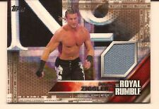 DOLPH ZIGGLER 2016 TOPPS WWE THEN NOW FOREVER ROYAL RUMBLE USED MAT RELIC /50