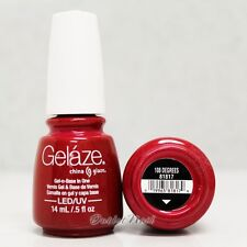Gelaze China Glaze LED UV Nail Gel Color Polish 0.5 oz - 108 Degrees 81817