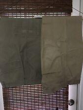 LEVI WORKWEAR LOOSE FIT STRAIGHT PANTS Red Tab Light Khaki + Green Both r 34x30