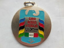 medaglia giro aereo d'Italia 1991 aero club Bergamo