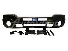 Bundle for 2003-2007 Sierra Front Bumper Black Bar Valance Bracket W/Fog Hole