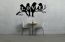 Love Birds Branch Tree Wall Decal Sticker L1