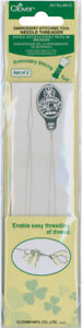 Clover Embroidery Stitching Tool Needle Threaders-2/Pkg -8810
