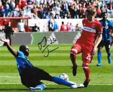 Daniel Johnson signed Chicago Fire MLS Soccer 8x10 photo autographed 2
