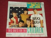 New Kids on the Block:  This one's for the children   UK  Advent calendar 7""