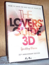 The Lovers' Guide 3D: Igniting Desire (DVD, 2012, With 3D Glasses) Gemma Bissix