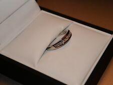 Ernest Jones Platinum Diamond Wedding Ring Size K .25 Carat