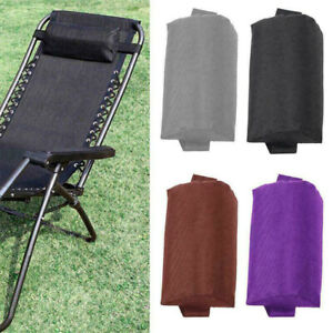 Headrest Head Cushion Pillow for Patio Sun Lounge Chair Recliner Couch Foldable
